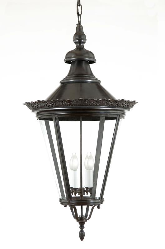 "4942 Crown Copenhagen Extra Large 21""W Hanging Outdoor Lantern"