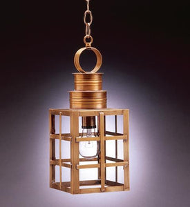 Suffolk Can Top H Bars Outdoor Hanging Lantern 5132 - FLC Select