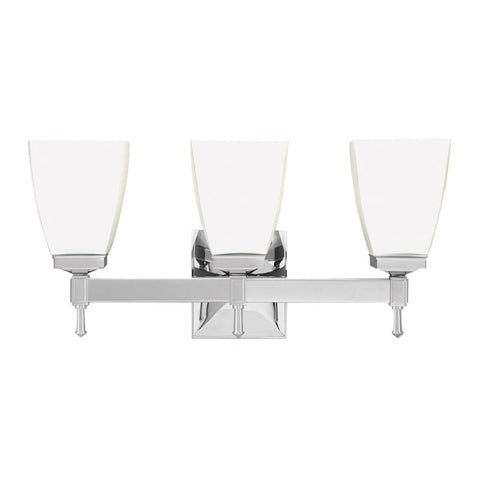 Kent Three Light Bath Wall Sconce 653