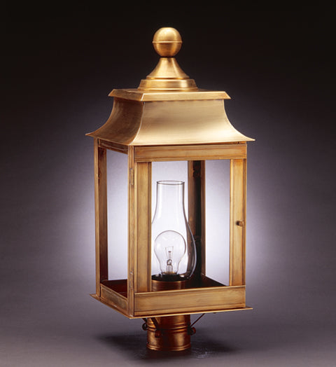 Concord Pagoda Outdoor Post Lantern 5633 - FLC Select
