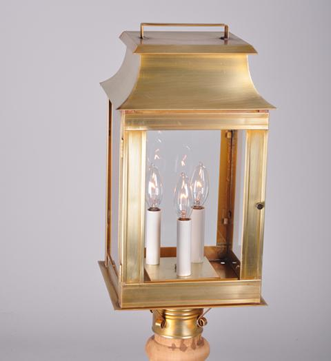 Concord Pagoda Outdoor Post Lantern 5643 - FLC Select