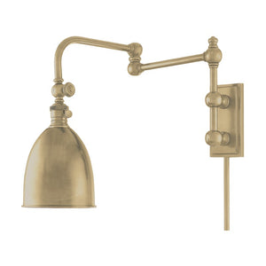 Roslyn Plug In Swing Arm Wall Sconce 771