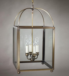 Chandelier Square Corners Hanging Lantern 6832 - FLC Select