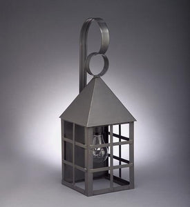 York Pyramind Top H Bars Outdoor Wall Lantern 7131 - FLC Select