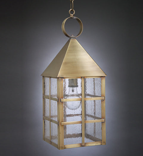 York Pyramind Top H Bars Outdoor Hanging Lantern 7142 - FLC Select