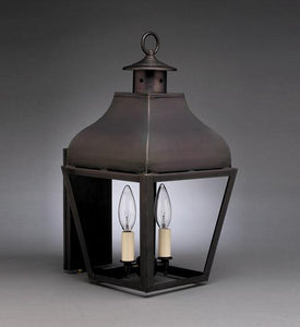 Stanfield Curved Top Outdoor Wall Lantern 7631 - FLC Select