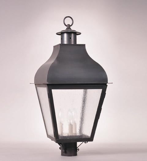 Stanfield Curved Top Outdoor Post Lantern 7643 - FLC Select