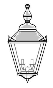 Arabella Outdoor Hanging Lantern 821M3 - FLC Select