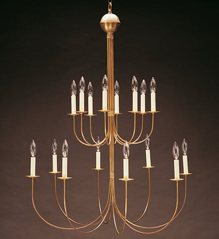 Chandelier Hanging 2 Tier J Arms 916 - FLC Select
