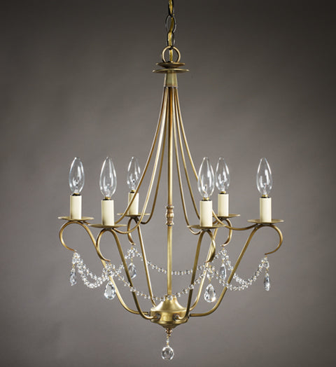 Chandelier with Crystals 929