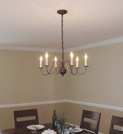 Chandelier Hanging S Arms 969 - FLC Select