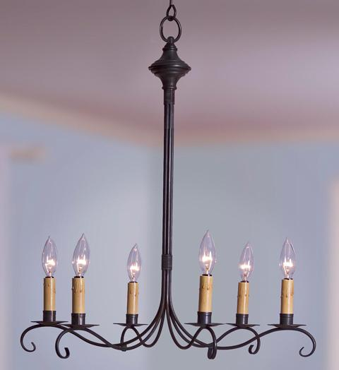 Chandelier Hanging S Arms with Curl 983 - FLC Select