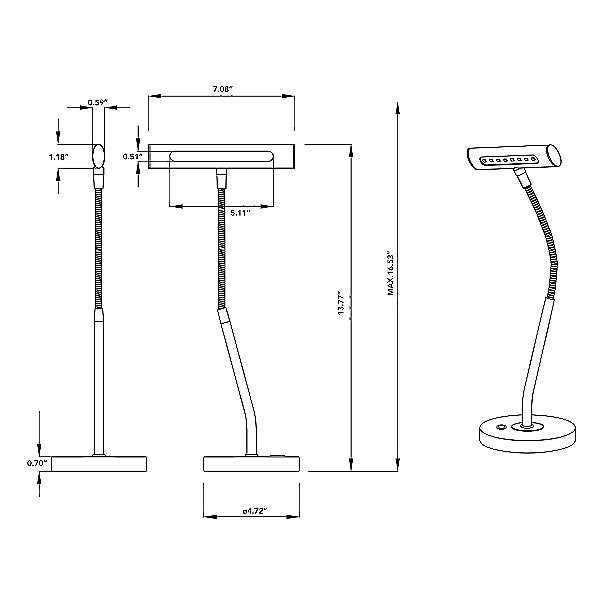 Curtis LED Desk Lamp