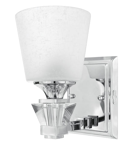 Deluxe Bath Single Wall Sconce DX8601C OPEN BOX