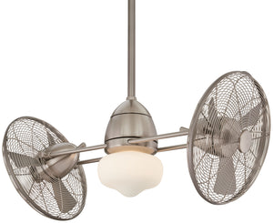 Gyro Wet Exterior Fan with Halogen Light Kit, F402