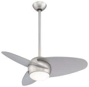"Slant 36""W Interior Fan, F410"