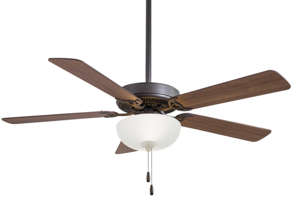"Contractor Uni-Pack 52"" Interior Fan with LED Light, F448L"