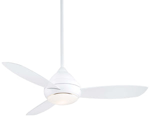 "Concept I Wet 52"" Exterior Fan with LED Light, F476L"