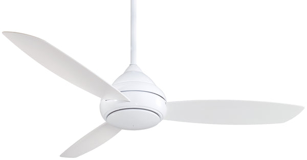 "Concept I Wet 58"" Exterior Fan with LED Light, F477L"