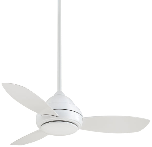 "Concept I 44"" Interior Fan with LED Light, F516L"