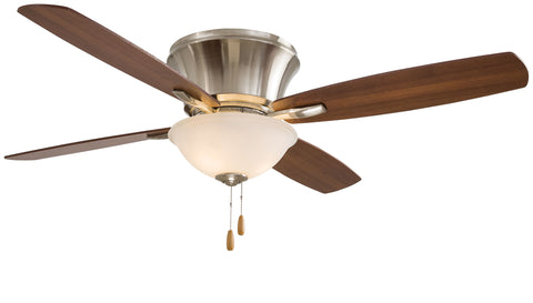 "Mojo II 52"" Interior Flush Mounted Fan with Light, F533"