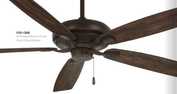 "Watt 60"" Interior Fan with LED Light, F552L"