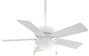 "Supra Unipack 44"" Interior Fan with Light Kit, F563-SP"