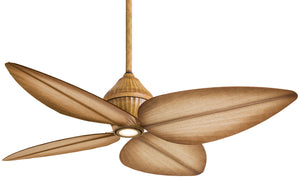 "Gauguin 52"" Exterior Fan with Integrated Halogen Light, F581"