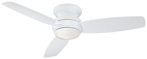 "Traditional Concept 52"" Exterior Fan with LED Light, F594L"