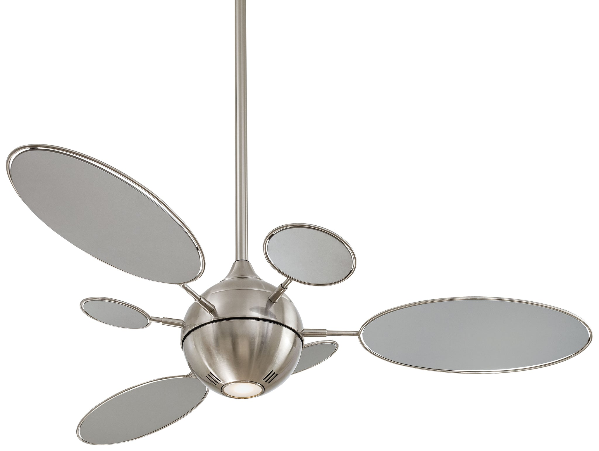 "Cirque 54"" Interior Fan with Halogen Light, F596"