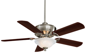 Bolo Interior Fan with Glass Bowl Light Kit, F620