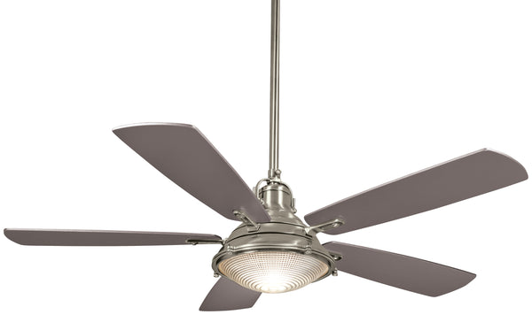 "Groton 56"" Exterior Fan with Integrated Halogen Light, F681"