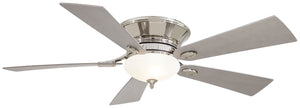 "Delano II 52"" Interior Fan with Halogen Light, F711"