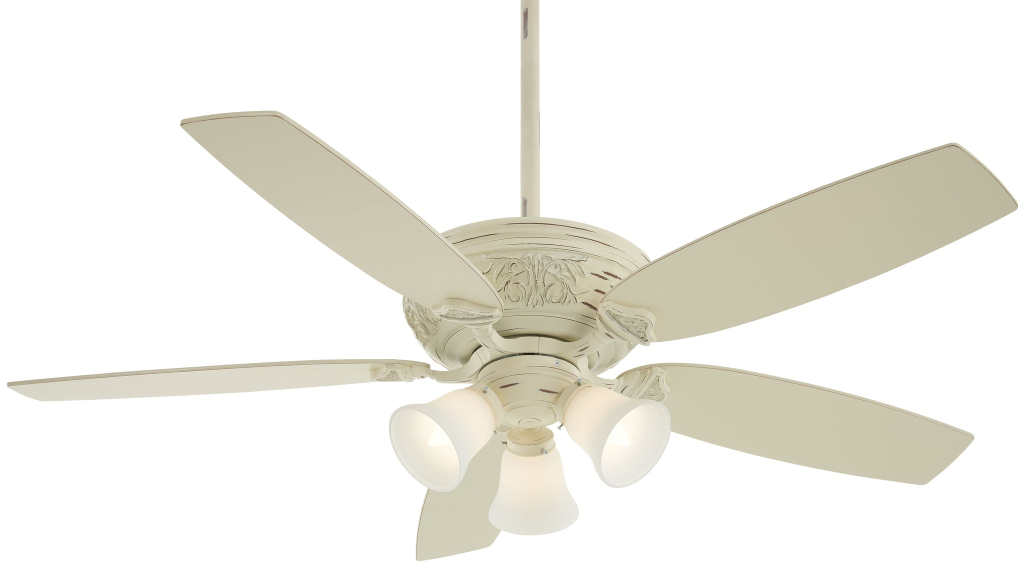 Classica Gallery Edition Interior Fan with Integrated 3-Light Kit, F759L