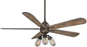 Alva Interior Fan with LED Ferro Bulbs, F852L