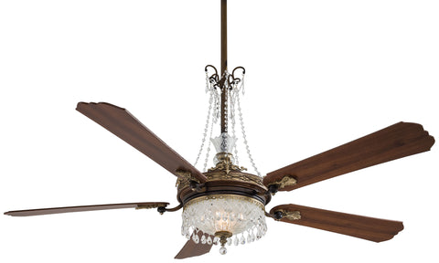 "Cristafano 68"" Interior Fan with Integrated Up and Down Light Kit, F900"