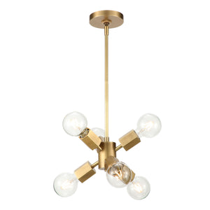 Hexa Six Light Pendant PD307006