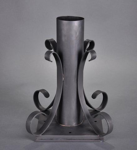 Pier Mount Tall with Scroll Work PM03 - FLC Select