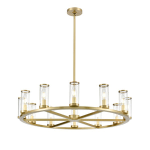 Revolve Twelve Light Chandelier - CH309012
