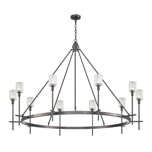 Salita Ten Light Chandelier CH314310