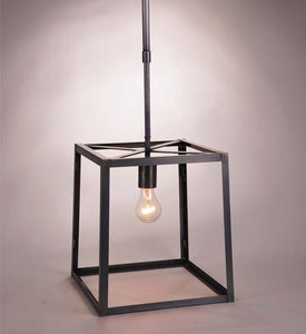 Transitional Square Trapezoid Hanging Indoor Lantern ST1213 - FLC Select