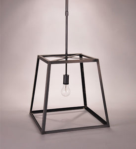 Transitional Square Trapezoid Hanging Indoor Lantern ST1216 - FLC Select