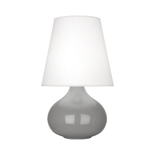 June Table Lamp with Oyster Linen Shade