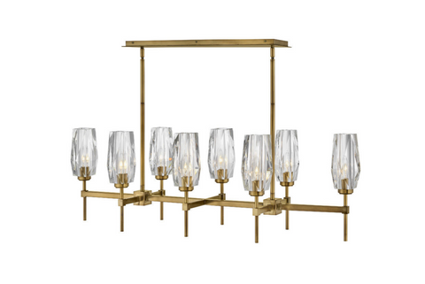 Ana Eight Light Linear Chandelier 38256