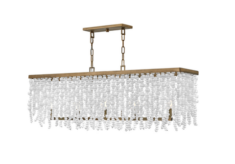 Dune Five Light Linear Chandelier FR30208