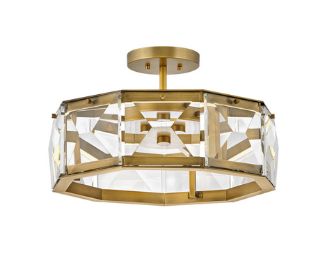 Jolie LED Semi-Flush Mount FR30103