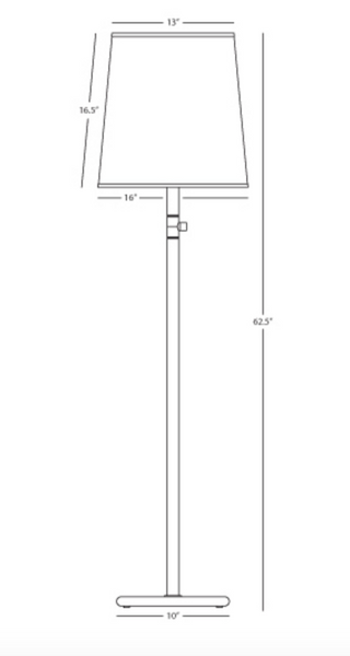 Rico Espinet Buster Chica Floor Lamp 2078, 2080, 2081, 2084