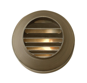 Hardy Island Round Louvered Deck Sconce 16804