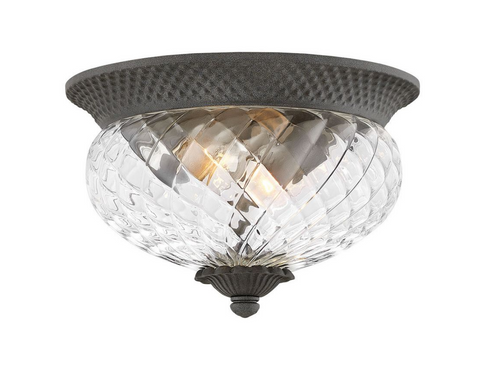 Outdoor Plantation Flush Mount 2128