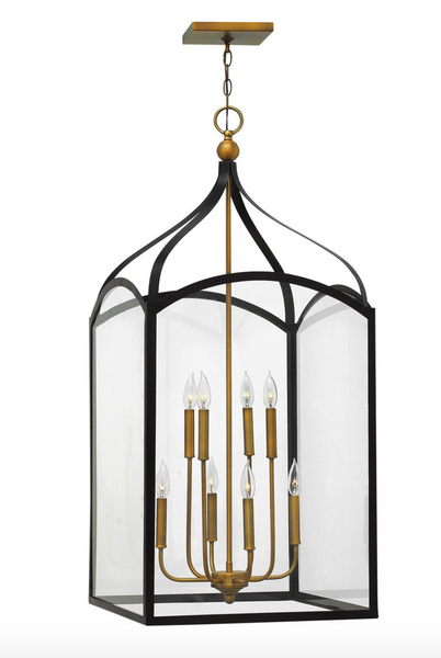 Clarendon Two Tier Open Frame Chandelier 3418